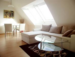 Serviced Premium Apartment mit Terrasse, Typ Comfort Family -
